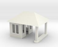 Quig's Esso Main Building HO Scale