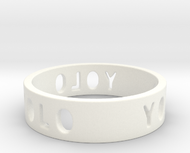 YOLO TYPE 2, Size 4.5 Ring Size 4.5