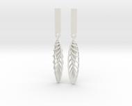Quark Earrings - Feathers (1rT4FO)