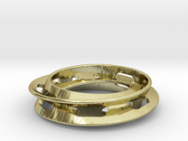 WithInFinity - 1 inch in 18K Gold Plated