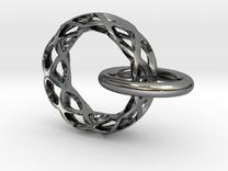 Loop pendant in Premium Silver