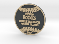 Charlie Blackmon in Full Color Sandstone