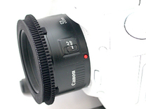 Nifty Fifty (Canon 50mm F1.8) Follow Focus Adapter in Black Natural Versatile Plastic