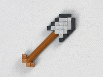 Mine Shovel in Frosted Ultra Detail
