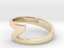 Zee Ring in 14K Gold