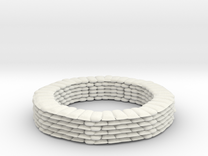 Sandbag Ring for 6mm, 1/300 or 1/285 in White Strong & Flexible