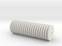 TEREX DEMAG Cc8800 Nylon Sheaves Set in White Strong & Flexible