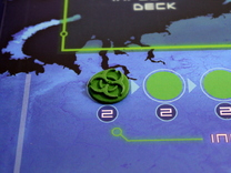 Pandemic Infection Marker -- Legacy Board Sized in Green Strong & Flexible Polished