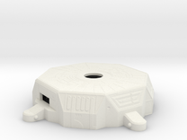 Loopin' Chewie - 4 Player Conversion Gearbox Top in White Strong & Flexible