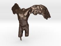 Angel 50 mm in Matte Bronze Steel