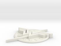 "WW-FlashLogo- 2"" Version in White Strong & Flexible"