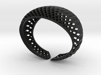 Armband-dubbelbol-M in Black Strong & Flexible