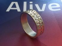 Woven Ring V2 in White Strong & Flexible