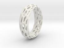 Trous Ring S11 in White Strong & Flexible