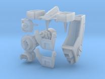 Tsunami Mech Upgrade Kit 2.0 Short Barrel in Frosted Ultra Detail