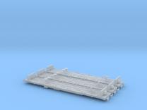 N Gauge YXA Sleeper Wagon X3 in Frosted Ultra Detail