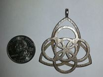 Celtic Necklace Pendant or Keychain in Stainless Steel