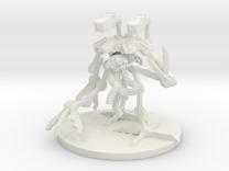 MR Crawler Tri Pod Bot in White Strong & Flexible