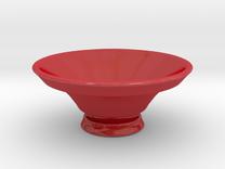 Ashitakas Bowl in Gloss Red Porcelain