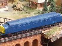 "Class 55 ""Deltic"" Z 1:220 in Frosted Ultra Detail"