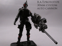 Joe compatible Combat Automaton Tactical Supe in White Strong & Flexible