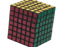6x6x7 Cuboid in White Strong & Flexible