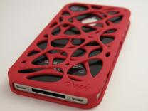 iPhone 4 / 4s case - Cell 2 -Customized in White Strong & Flexible