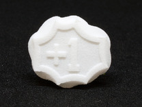 Plus/Minus Tokens (x6) in White Strong & Flexible