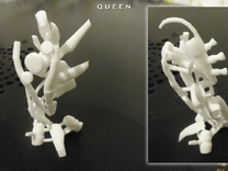 QUEEN in White Strong & Flexible