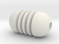 DRAW pendant - honey dipper in White Strong & Flexible