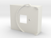 Picam Housing for use with pinwheel in White Strong & Flexible