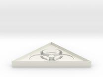 Biohazard 2 - 5 cm in White Strong & Flexible