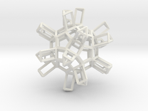 Dodecahedron TopMod in White Strong & Flexible