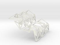 Icosahedrik in White Strong & Flexible