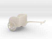 Hittite Heavy Chariot in White Acrylic