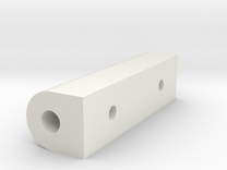 HAV-111_spacer_1.stl in White Strong & Flexible