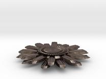 Sunflower Pendant in Stainless Steel