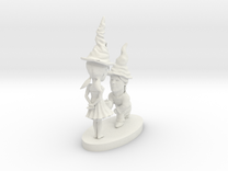 gnome couple in White Strong & Flexible