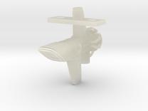 Mulcien Chronius Class Frigate in Transparent Acrylic