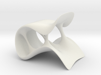 streach chair in White Strong & Flexible