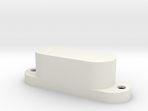 XII-style pickup cover in White Strong & Flexible