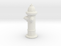 Hydrant in White Strong & Flexible