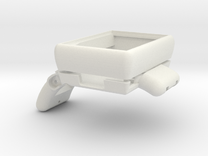 BeveledCaseWithoutBuckle in White Strong & Flexible