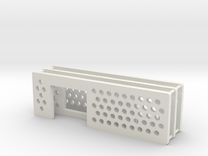 arduino enclosure ends: main, ethernet, db9 in White Strong & Flexible