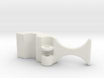 safety clip no leg 8-4-10 in White Strong & Flexible