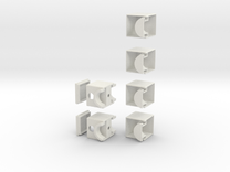 Minimis 1x2x3 in White Strong & Flexible