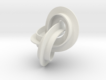 mobius strip medium in White Strong & Flexible
