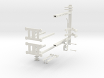 MINI Cross Over machine PT1 in White Strong & Flexible