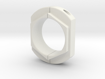 Axle clamp in White Strong & Flexible