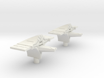 Fleet Scale Series 2: Heavy Alien Cruiser in White Strong & Flexible